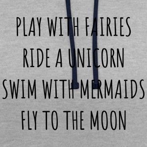 Fées, Unicorn & Mermaids OW - Sweat-shirt contraste
