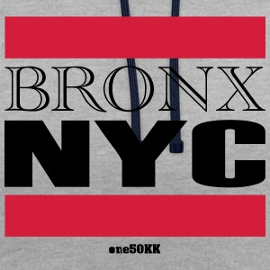 Bronx NYC - Contrast Colour Hoodie