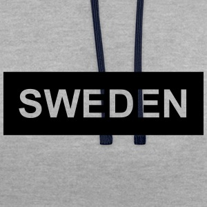 Sweden - Contrast Colour Hoodie