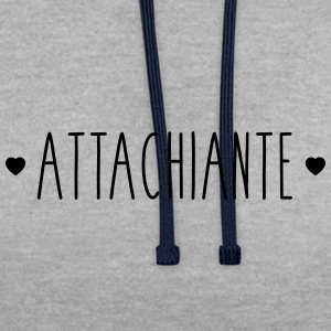 Attachiante - Sweat-shirt contraste