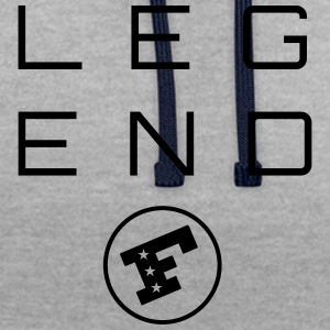 LEGEND F - Sweat-shirt contraste