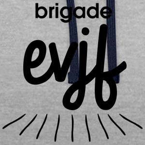 Brigade EVJF - Sweat-shirt contraste
