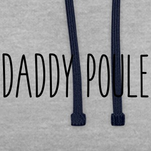 Daddy poule - Sweat-shirt contraste