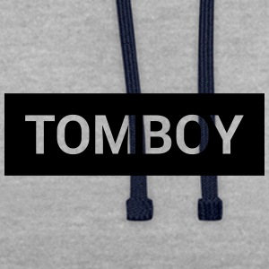 Tomboy - Contrast Colour Hoodie
