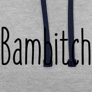 Bambitch - Sweat-shirt contraste