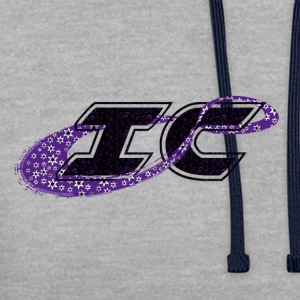 le logo des Innovations Infinity Cheer - Sweat-shirt contraste