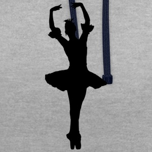 ballerine - Sweat-shirt contraste