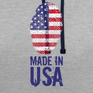 Made in USA / Gemacht in USA America - Kontrast-Hoodie