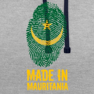 Made In Mauritanië / Mauritanië / موريتانيا - Contrast hoodie