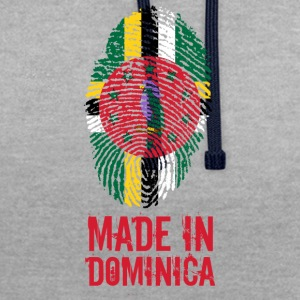 Made In Dominica Karibien - Kontrastluvtröja