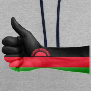 malawi collection - Kontrast-Hoodie