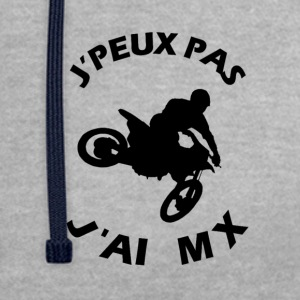 J'PEUX PAS J'AI MX - Sweat-shirt contraste