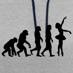 ++ ++ BALLET EVOLUTION - Sweat-shirt contraste