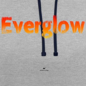 Everglow - Contrast Colour Hoodie