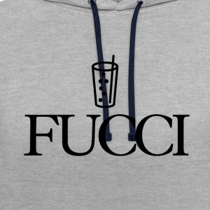 Fucci - Sweat-shirt contraste