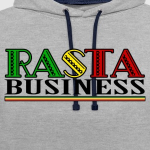 Rasta Business - Sweat-shirt contraste