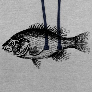 eau douce perche - Sweat-shirt contraste