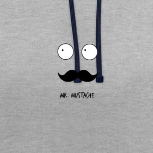 M. moustache - Sweat-shirt contraste