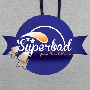 Superbad - Contrast Colour Hoodie