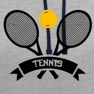 Tennis! - Sweat-shirt contraste