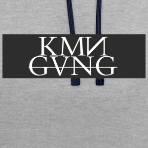 KMNGVNG - Sweat-shirt contraste