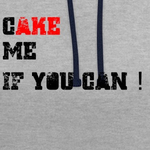 Cake_me_if_you_can - Sweat-shirt contraste