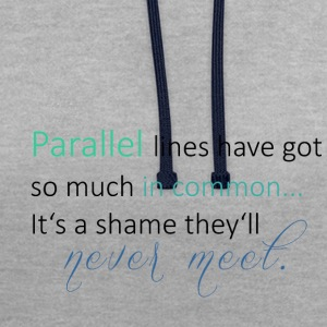 Parallel Lines 2 - Sweat-shirt contraste