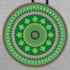 MANDALA - BOUDDHA - T-SHIRT YOGA - Sweat-shirt contraste