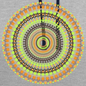 MANDALA / YOGA / MEDITATION - Contrast Colour Hoodie