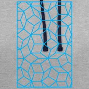 Quasicristal - Sweat-shirt contraste