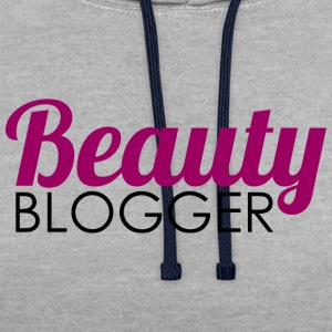 Beauty Blogger - Contrast hoodie