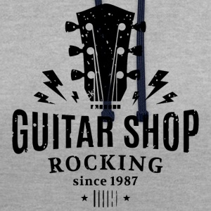 magasin de guitare - Sweat-shirt contraste