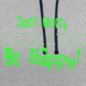 Happiness - Contrast Colour Hoodie