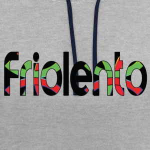 friolento - Sweat-shirt contraste