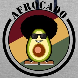 Afrocado - Sweat-shirt contraste