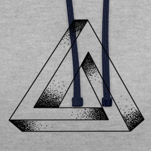 TRIANGLE ENDLESS - Sweat-shirt contraste