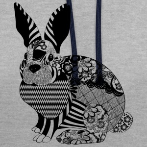 Lapin Floral - Sweat-shirt contraste