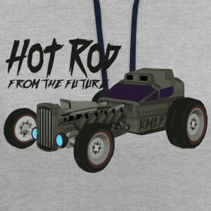 Hot Rod from the future v3 style Kmlf - Contrast Colour Hoodie