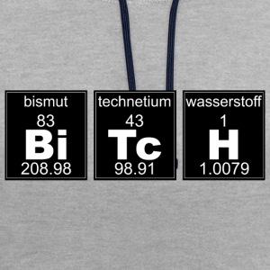 Chimie chienne - Sweat-shirt contraste