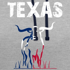Nation-Design Texas Longhorn - Contrast Colour Hoodie