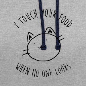 Hungry Cat - Sweat-shirt contraste