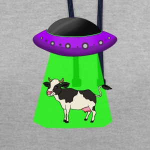 Alien Abduction - Kontrast-Hoodie