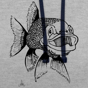 brochet - Sweat-shirt contraste