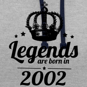 Legends 2002 - Contrast Colour Hoodie
