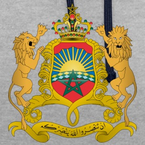 Coat of Arms Maroc - Sweat-shirt contraste