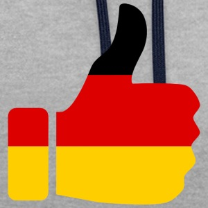 COLLECTION ALLEMAGNE MON PAYS - Sweat-shirt contraste