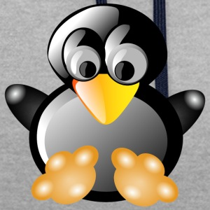 penguin353 - Sweat-shirt contraste