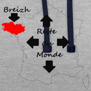 La France vu par les bretons - Sweat-shirt contraste