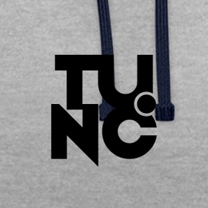 Tunc Logo 1 - Contrast Colour Hoodie