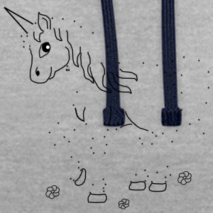 Peinture Unicorn by Numbers - Sweat-shirt contraste